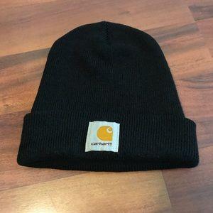 Black Carhartt Beanie Hat